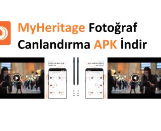 MyHeritage Fotoğraf Canlandırma APK İndir